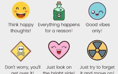 Hoe positief denken stress veroorzaakt